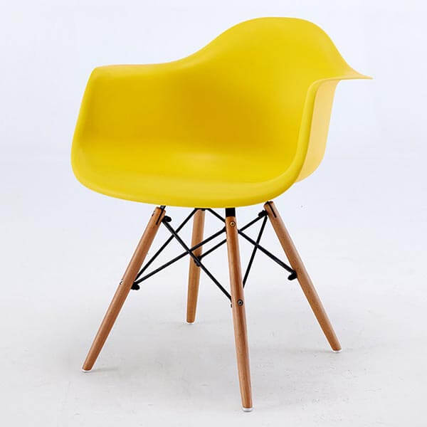 Eames Armchair Daw Molded Plastic Chair Replica Norpel