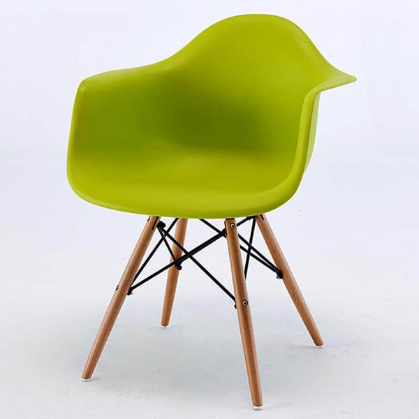 Eames armchair daw molded plastic chair replica norpel for Eames plastic chair replica