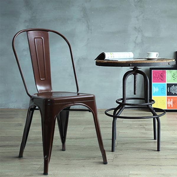 Pleasant Tolix Chair Replica Tolix Style Dining Chair Norpel Alphanode Cool Chair Designs And Ideas Alphanodeonline
