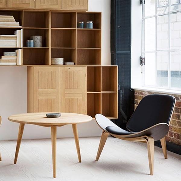 Shell Chair Replica Hans Wegner Ch07 Reproduction Norpel