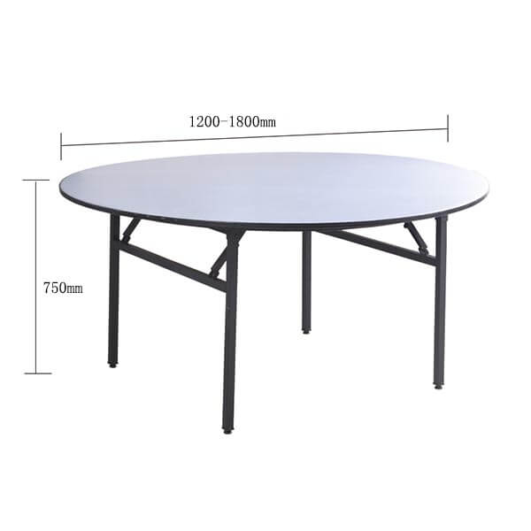 banquet table sizes
