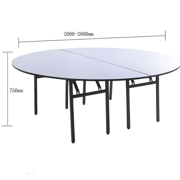 banquet table dimensions
