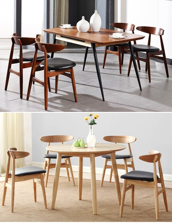 CH33 chairs for dining room and kitchen