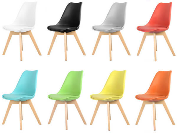 Tulip chair color