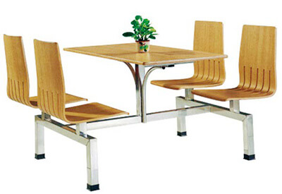 Canteen table and chairs set