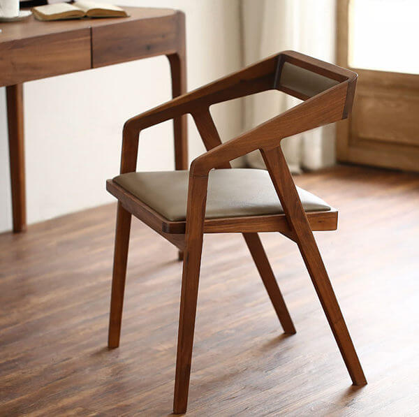 Walnut Katakana chair