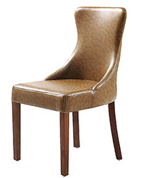 N-117 Leather Parsons Chair