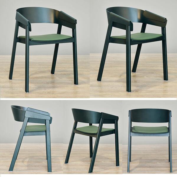 Danish Dining Chair   Modern Scandinavian Design - NORPEL