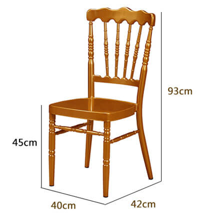 Napoleon Chair Dimension