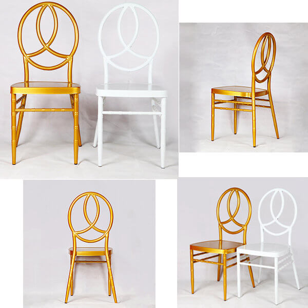 gold phoenix chairs and white phoenix chairs