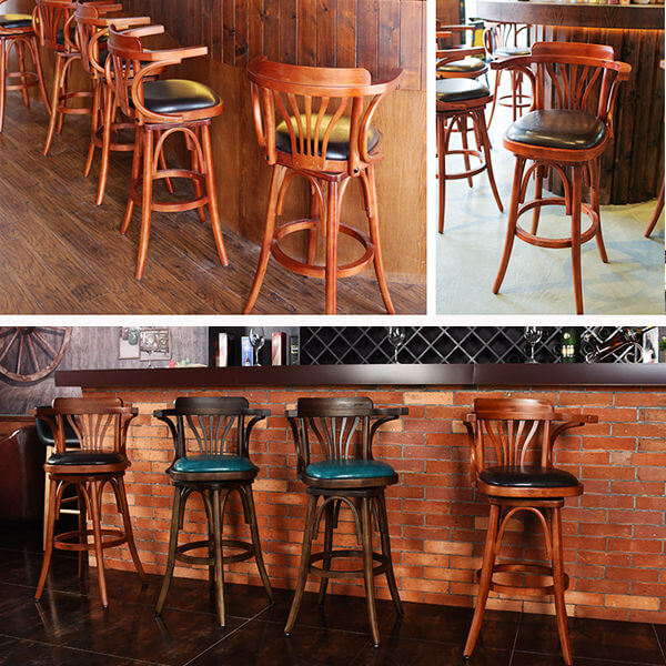 N-B004 restaurant bar chairs