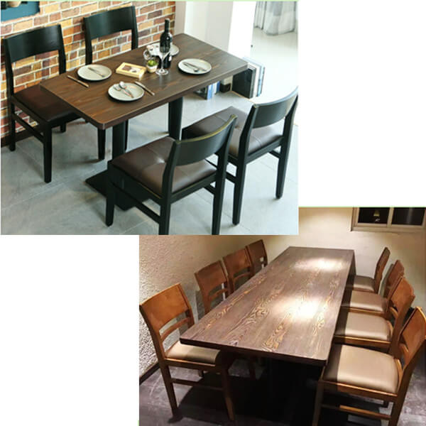 cheap restaurant chairs and tables