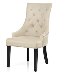 N-122 Nailhead Upholstered Dining Chairs