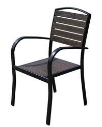N-PP11 outdoor cafe chairs