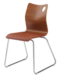 N-F07 Bentwood Cafe Chairs