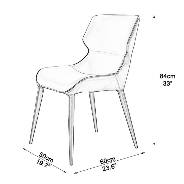 Dining chairs uk dimensions