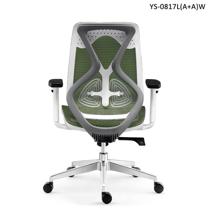 ergonomic office chair with adjustable lumbar support