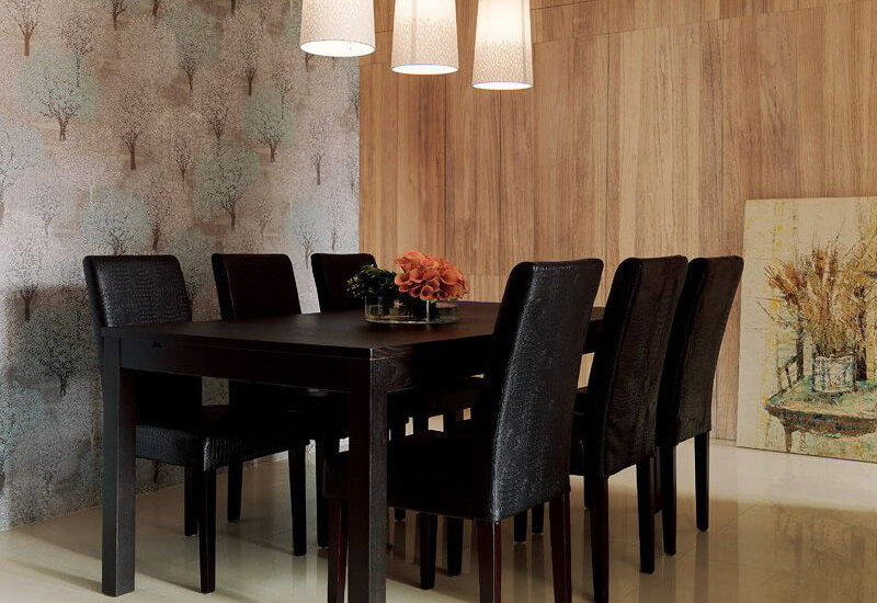 black parsons chairs dining set
