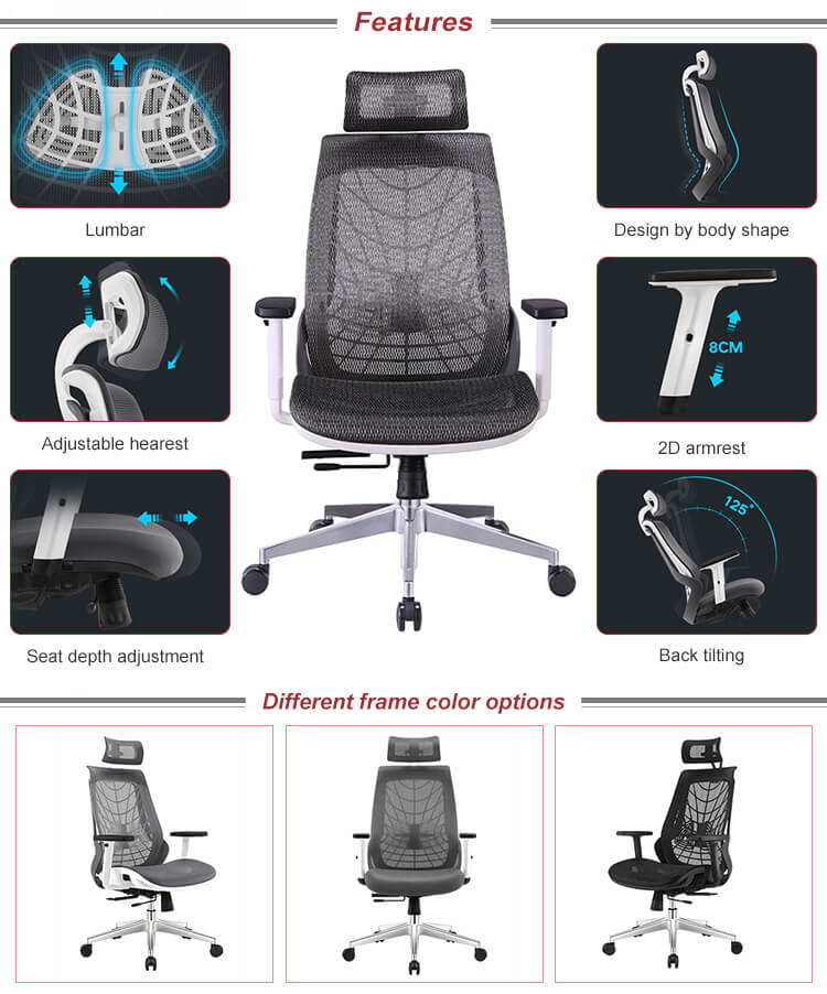 Features of YS-0919 Ergonomic Office Chair