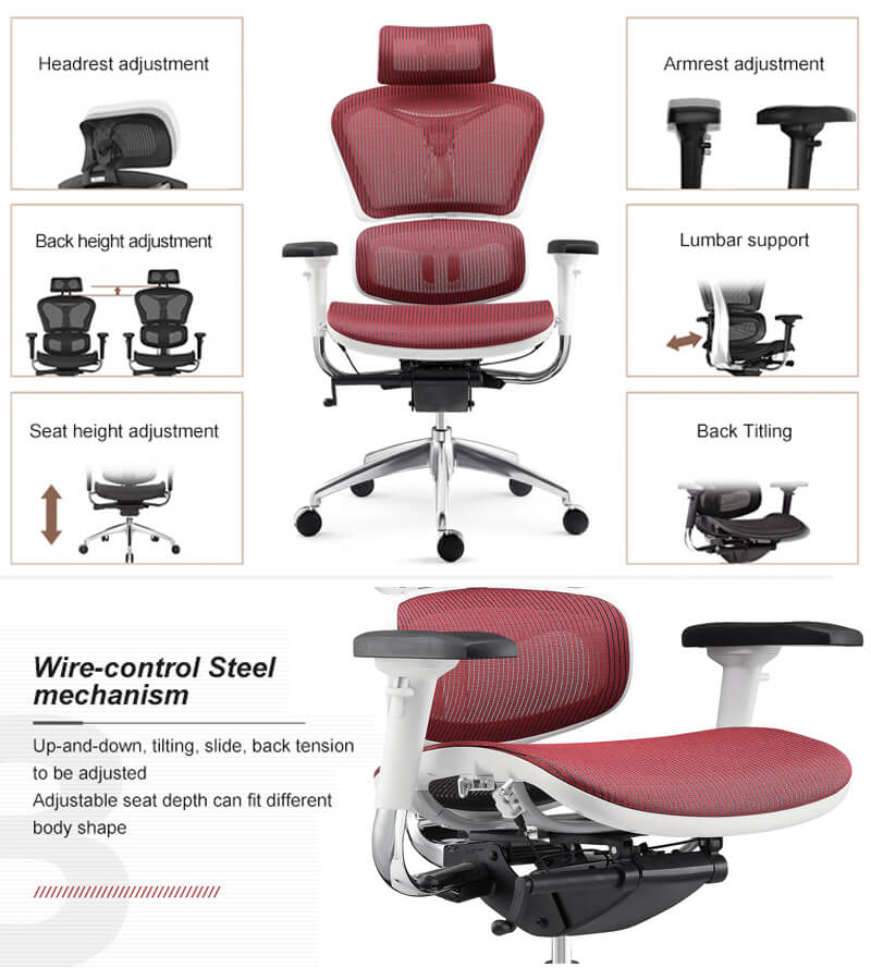 Features of Ergonomic Computer Chair YS-0810