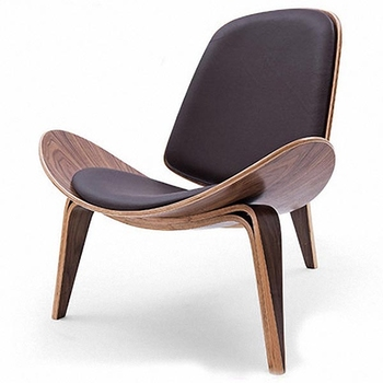 Wegner Shell Chair Replica N-C3017 Lounge Chair