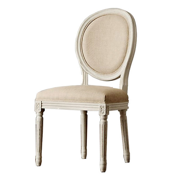 N-C3220 French Oval Back Dining Chair Louis XVI Chair
