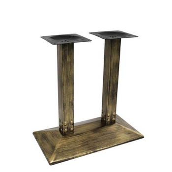 B03 Bronze Finish Metal Coffee Table Base